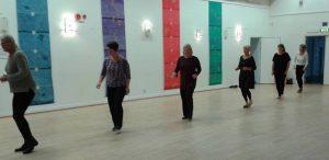 Julfest med Line dance